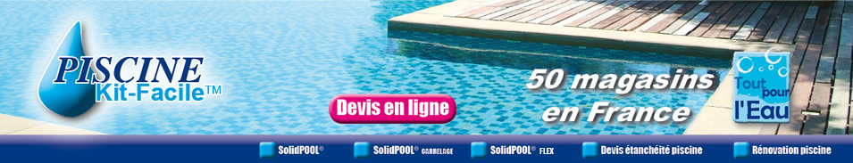 PiscineKitFacile  Kit Piscine Solidpool Carrelage La Solution