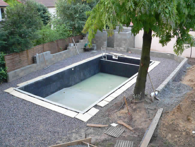 Piscine en kit bois a enterrer 28 images am 233 for Piscine a enterrer
